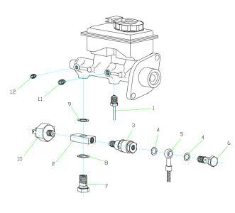 abart performance pressure reduction 25 bar brake. Black Bedroom Furniture Sets. Home Design Ideas