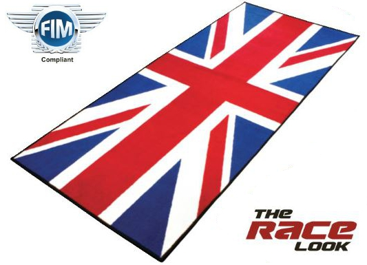 ABARTPerformance  Garagen Teppich Series 2 Union Jack