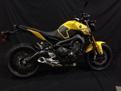 TechSpec YAMAHA FZ-09 / MT09 2014 + Tank Grip Folie