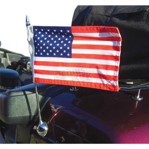 Trunk Mounted Single Flag Holder Kit
