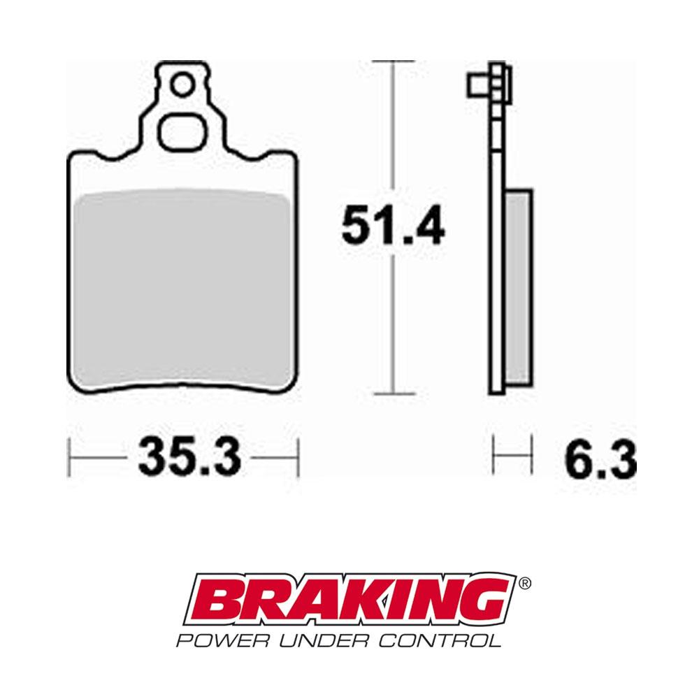 EBC BRAKES Bremsbelag Bremsklotz Standard FA060