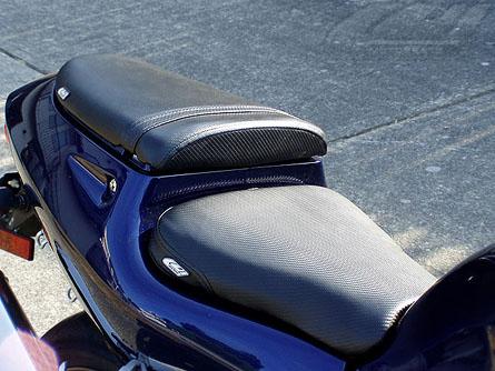 Luimoto 4011101 Carbon Fiber Black Baseline Seat Cover 96-00 GSX-R600