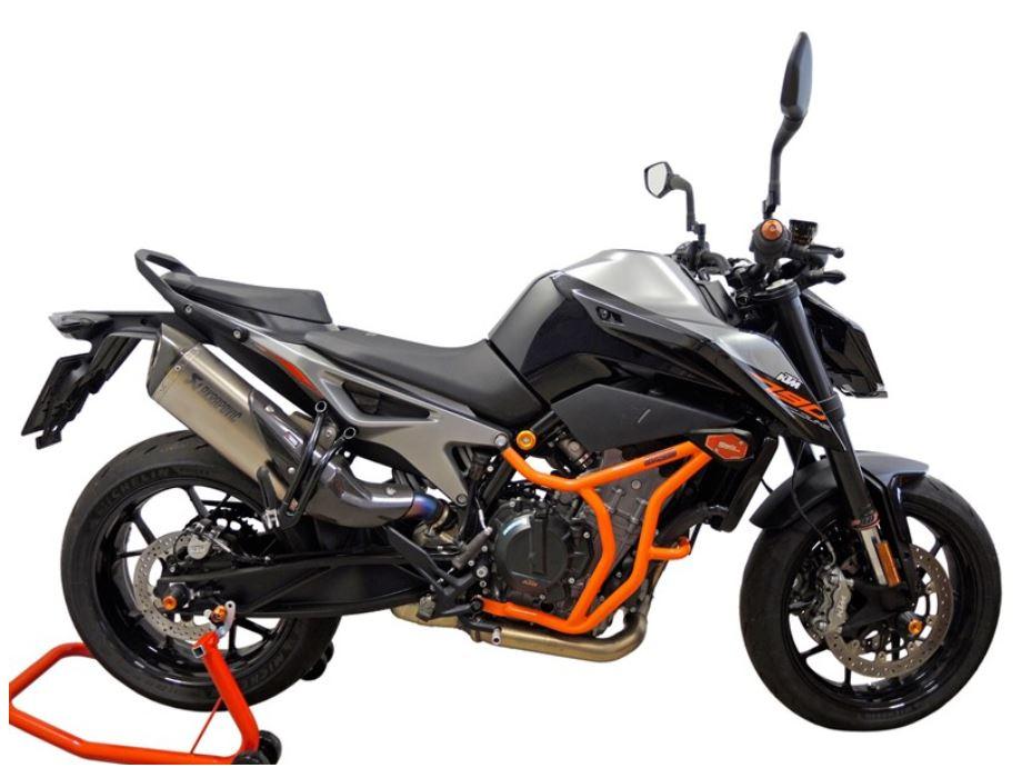For KTM 790 DUKE 2018 2019 2020,Motorcycle Frame Sliders CNC Aluminum Xitomer Front Axle Fork Sliders//Crash Protector Orange