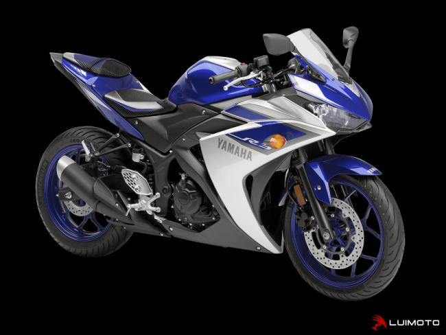 ABART-Performance - Team Yamaha Seat Covers for YAMAHA R3 front Seat
