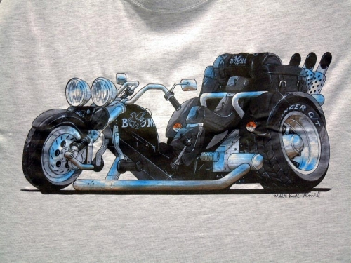 abart performance t shirt low rider kool boom trike. Black Bedroom Furniture Sets. Home Design Ideas