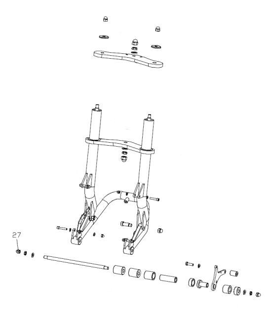 abart performance comfort fork va d60mm polished boom. Black Bedroom Furniture Sets. Home Design Ideas